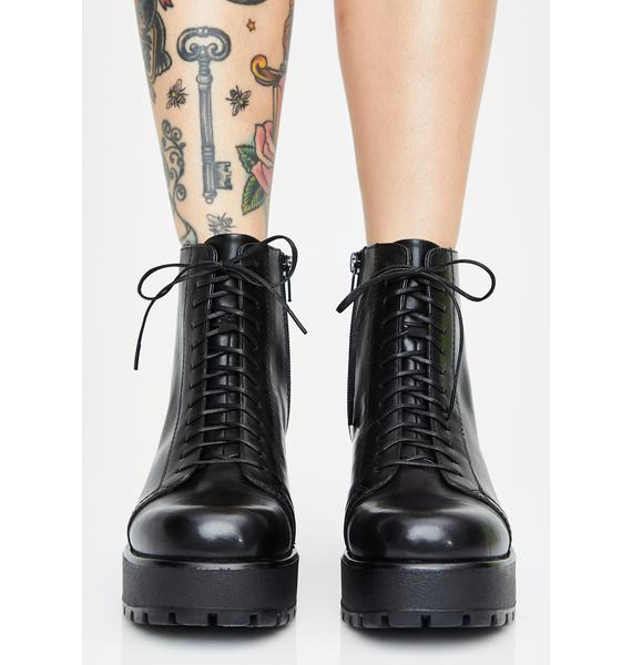 VAGABOND SHOEMAKERS Dioon Lace Up Leather Boots