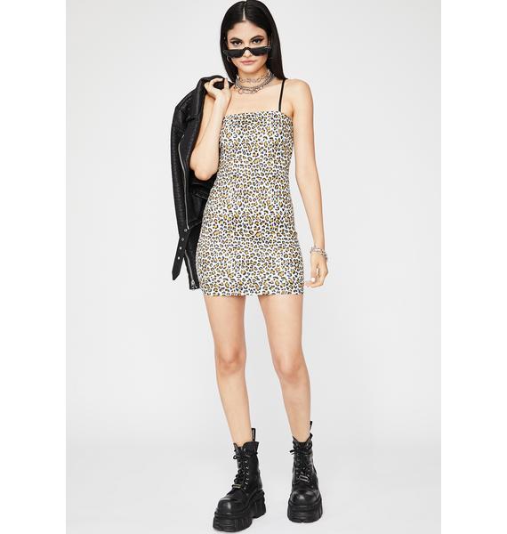 Meowin' Mama Mini Dress