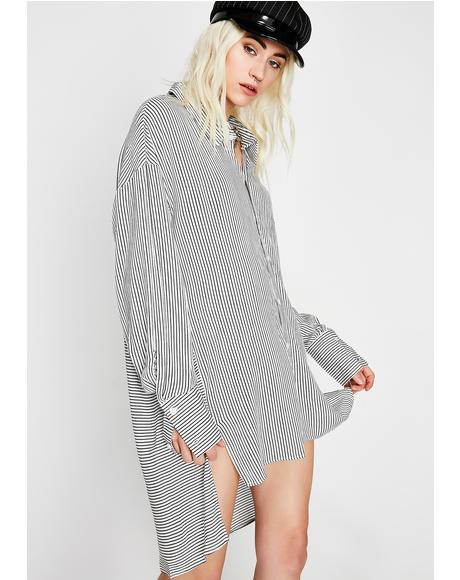 Know It All Stripe Shirt