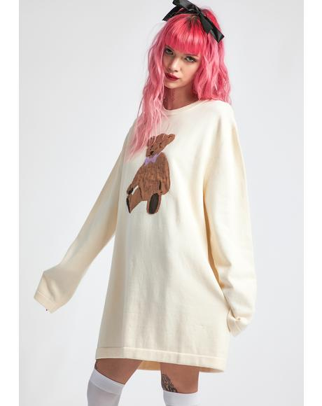 On Cloud Fine Oversized Intarsia Sweater