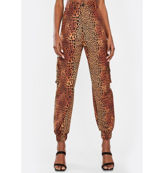Nana Judy Leopard Matira Cargo Pants