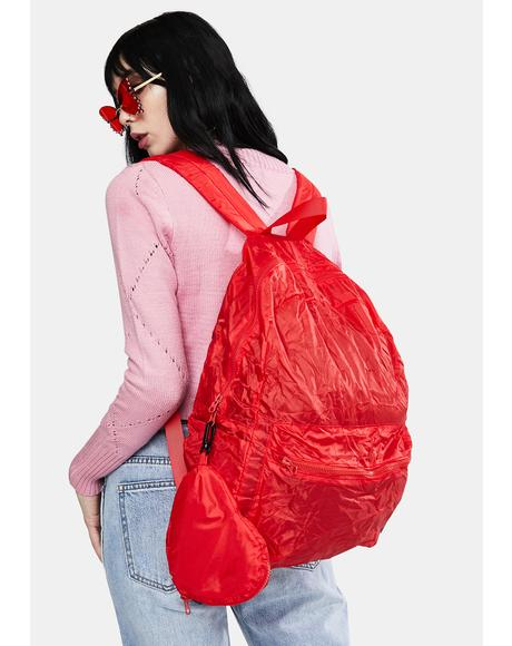 Sweet Heart Foldable Backpack