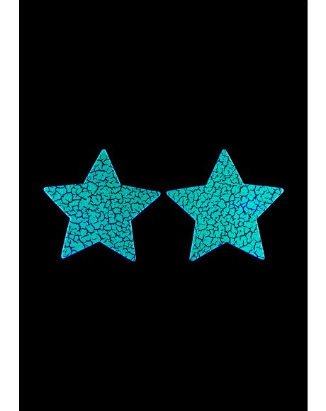 Glow In The Dark Star Pasties