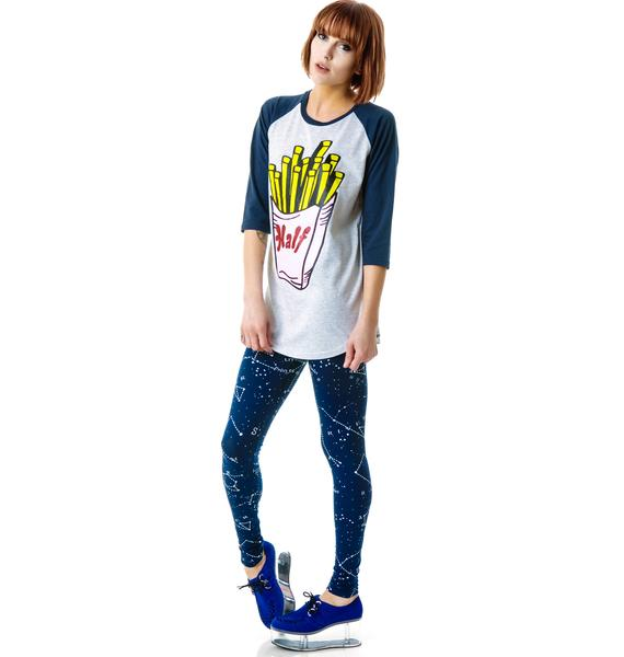 Halfman Romantics Fried Potato Raglan Tee