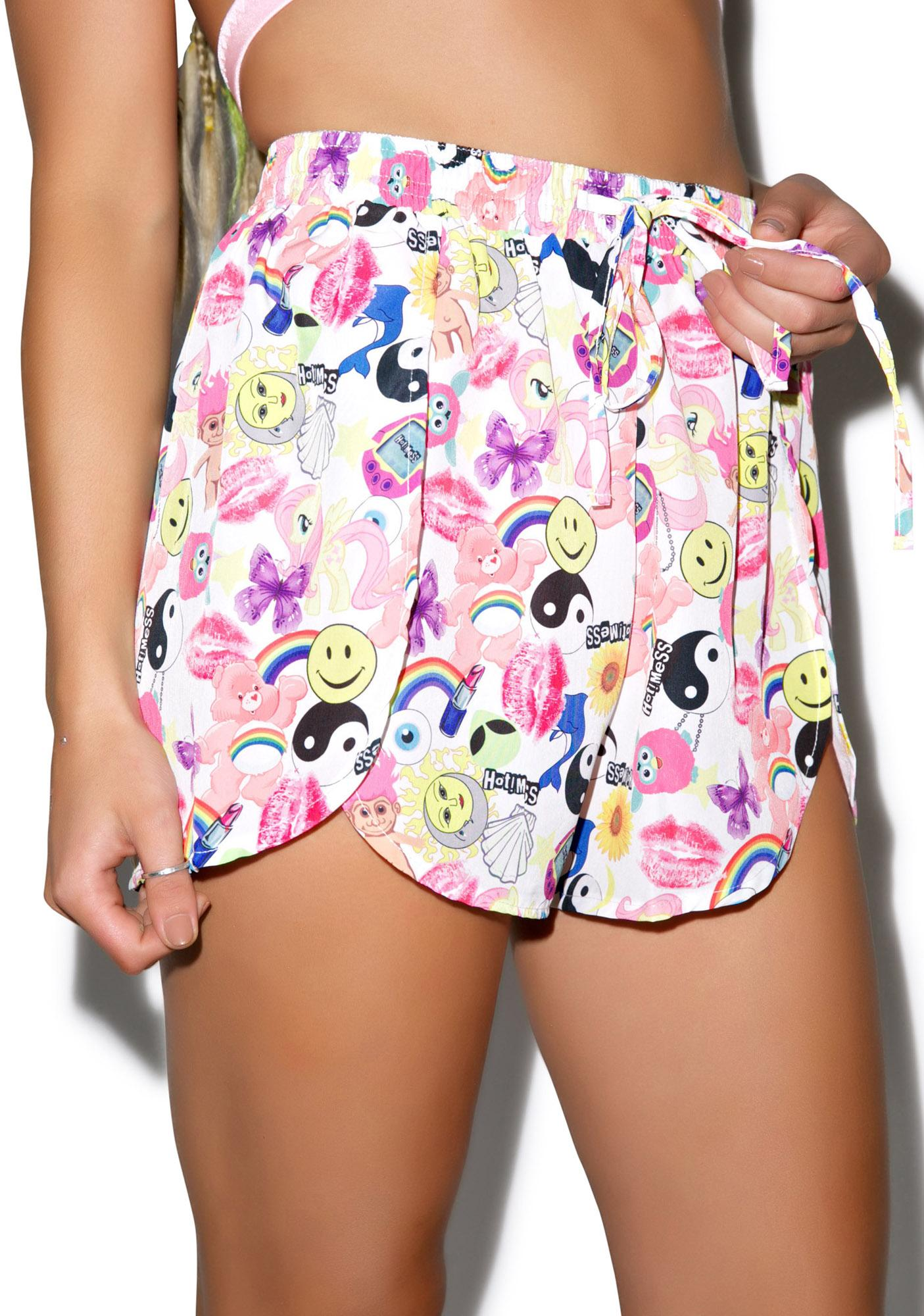 Hot!MeSS Toyshop Chiffon Scallop Shorts