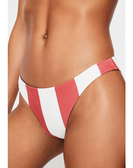 Sanremo Reversible Cheeky Bikini Bottoms