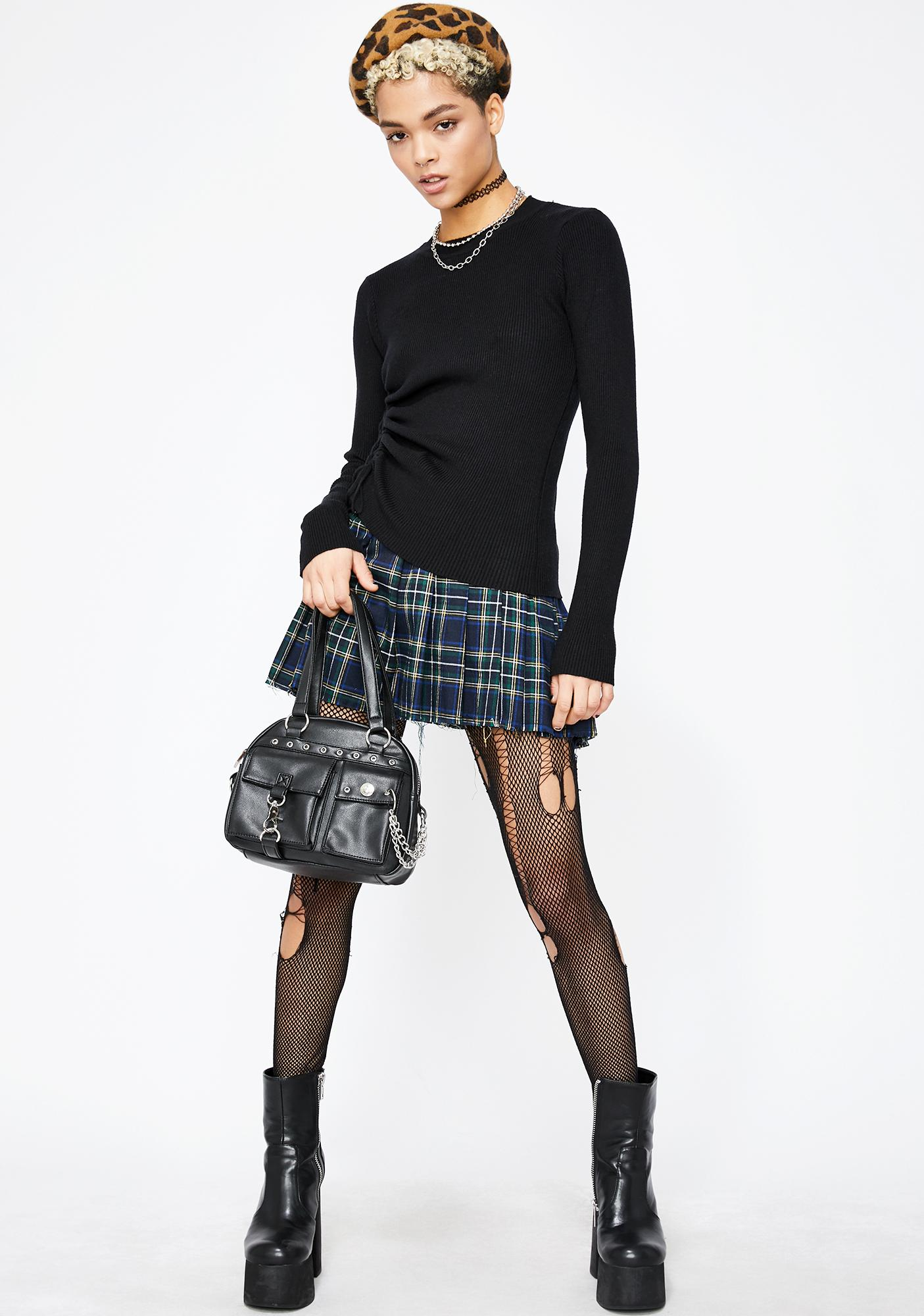 Hardcore Hottie Ruched Sweater
