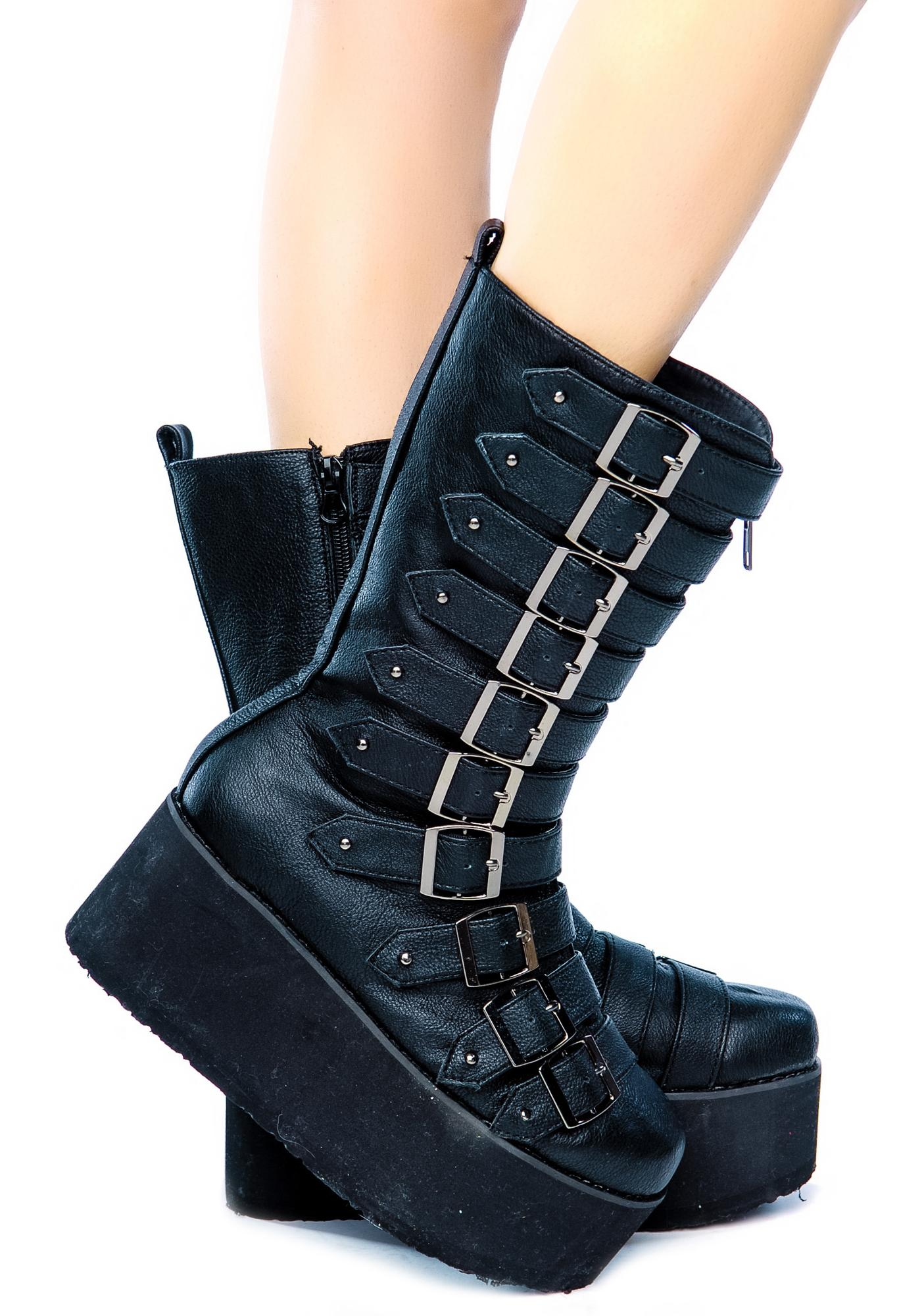 Paris Platform Boots