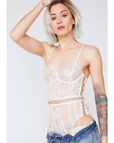 Mariette Embroidery Bodysuit