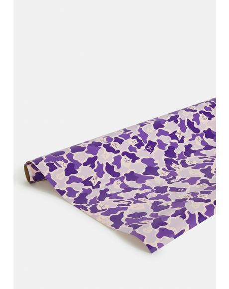 Magic Nermal Line Camo Wrapping Paper