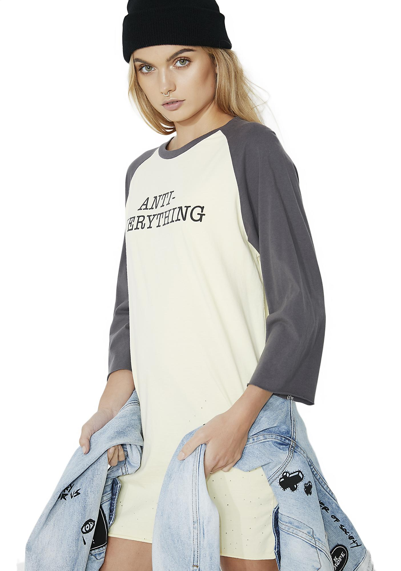 Civil Clothing Anti Oversized Raw Cut Raglan