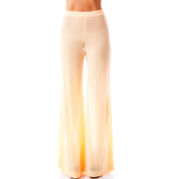 Wildfox Couture 70's Wildfox Thin Rib Heaven Pant