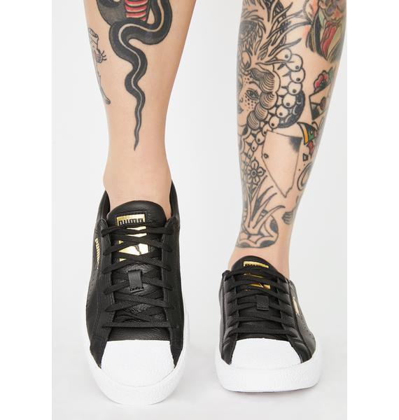PUMA Black Love Grand Slam Sneakers