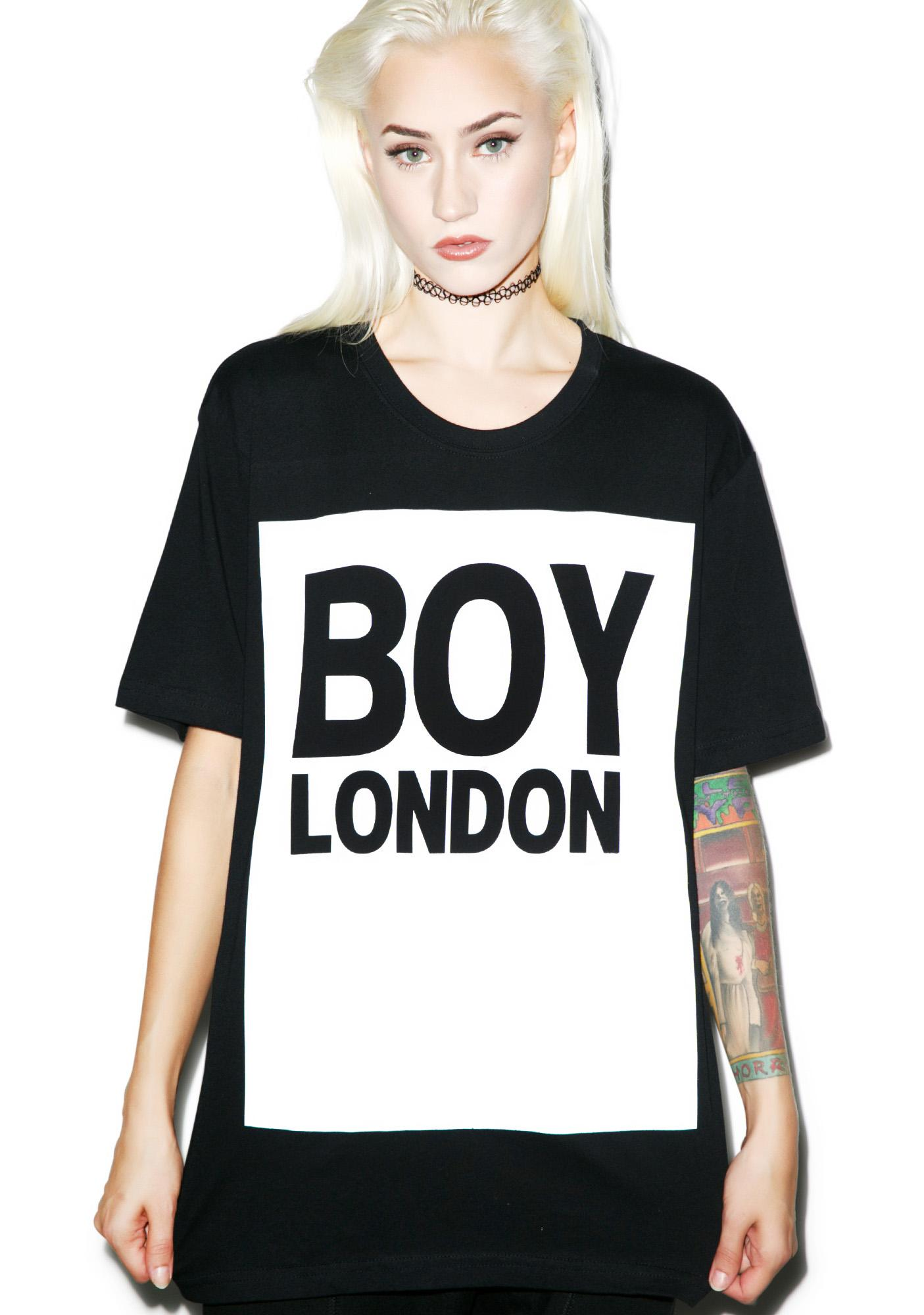 BOY London Boy London Standard Box Tee