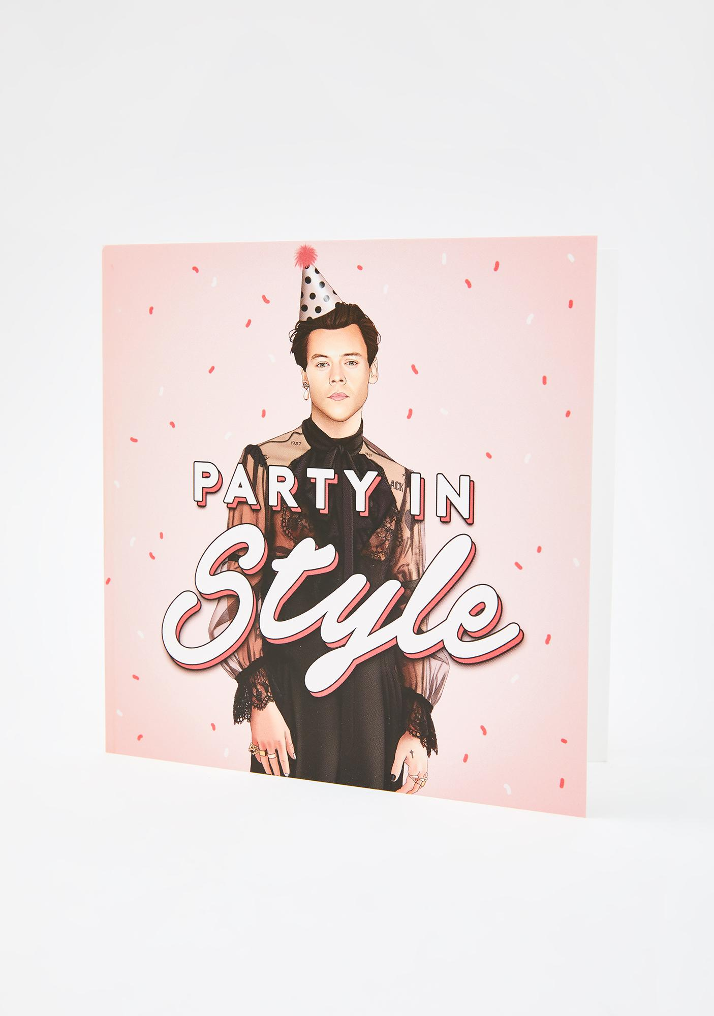 Central 23 Harry Party In Style Birthday Card