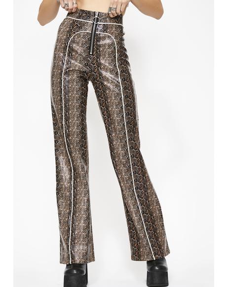 Whiskey Switchblade Sis Zip Pants