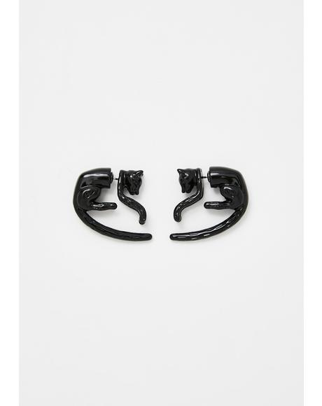 Unlucky Prowl Stud Earrings