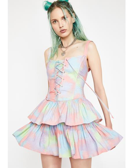 Moody Mystic Tie Dye Dress