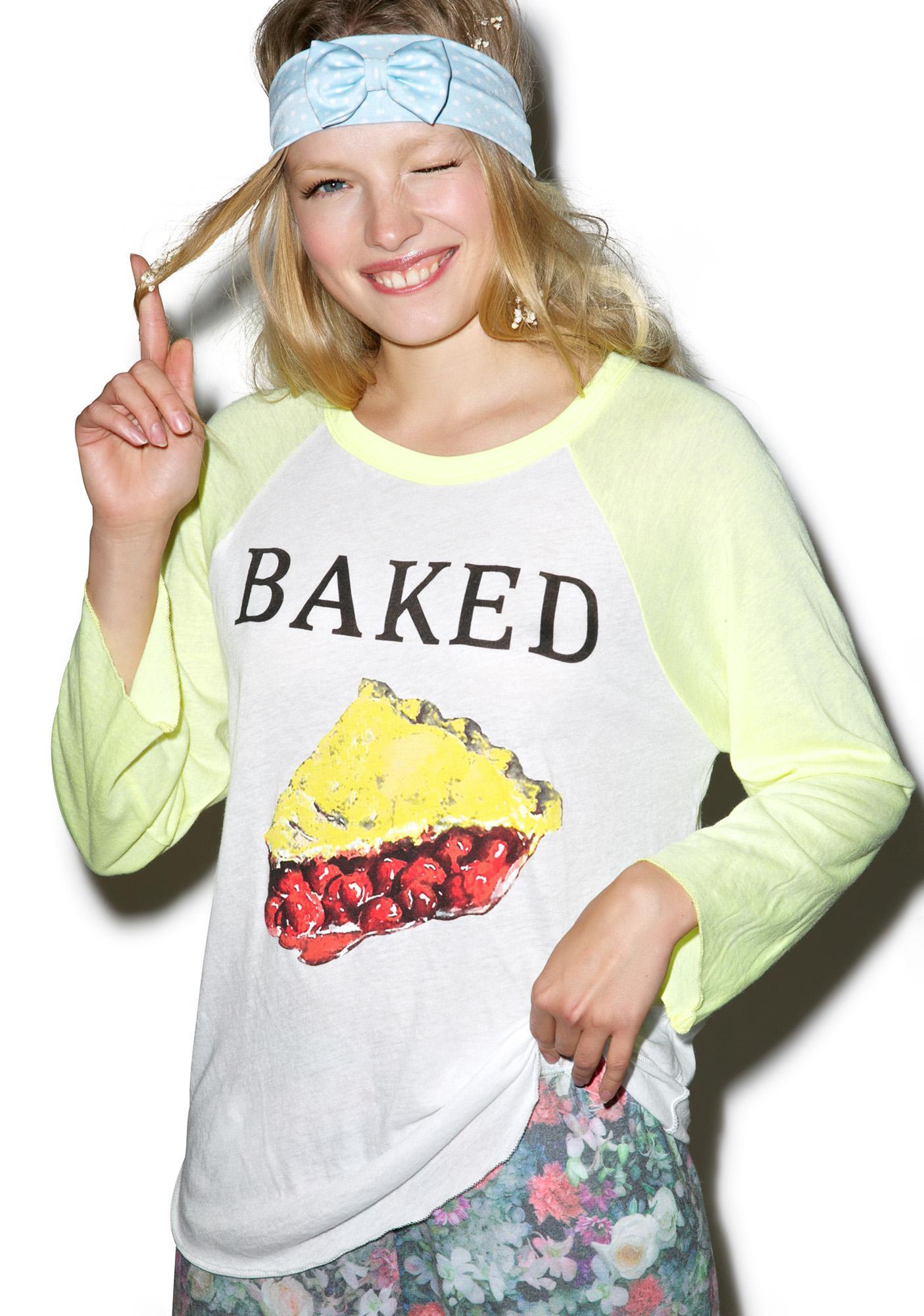 Wildfox Couture Baked Rebel Raglan