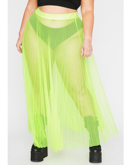 Electric Her Fall From Grace Maxi Skirt