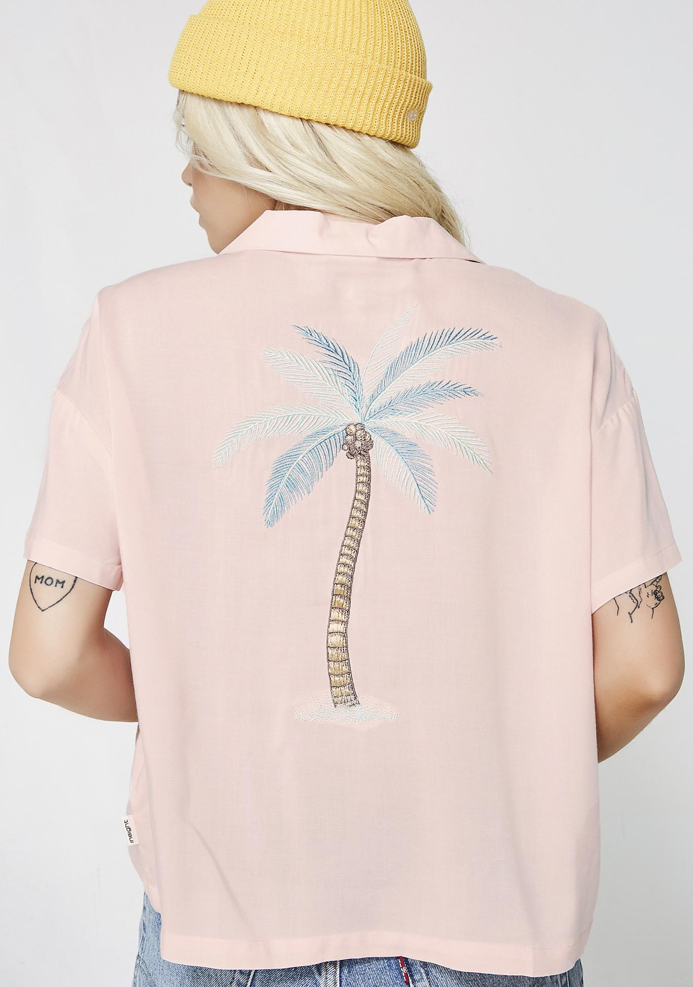 Insight Waterfalls Resort Bleach Peach Shirt