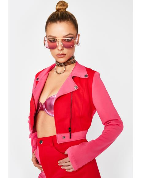 Hot Breakup To Makeup Moto Jacket