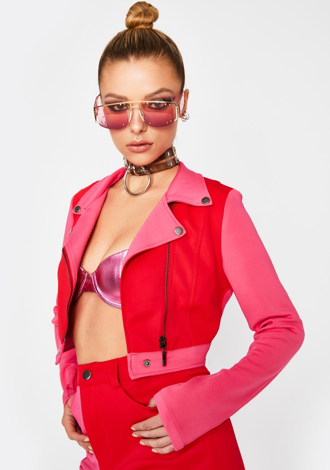 Hot Breakup To Makeup Moto Jacket
