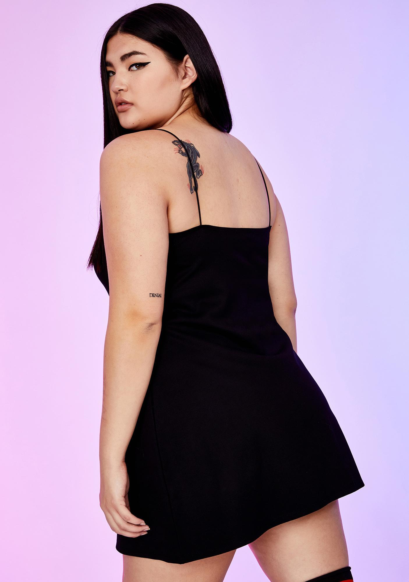 Dolls Kill x Hello Kitty Xtra Sugar Coated Threat Mini Dress