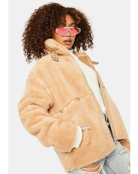 Desire Daily Sherpa Coat