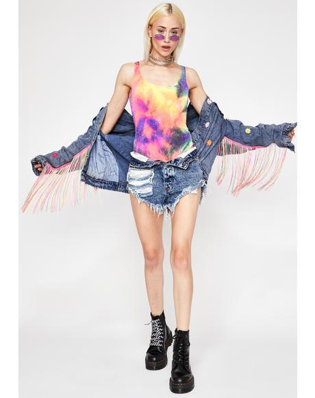 Freaky Killa Swag Knit Bodysuit