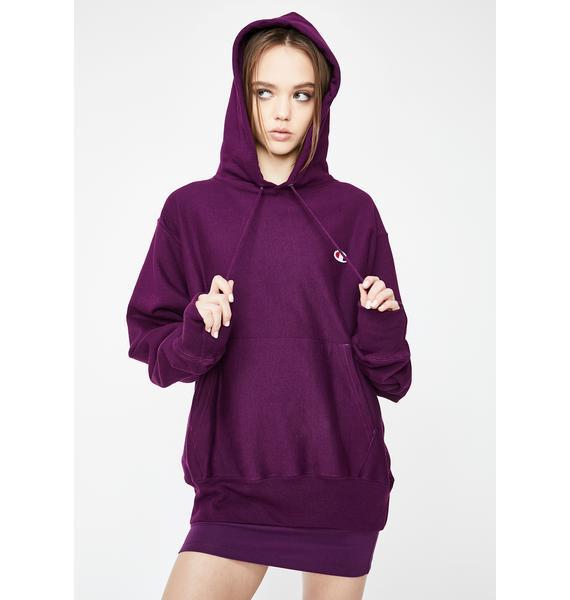 Champion Venetian Purple Reverse Weave Hoodie