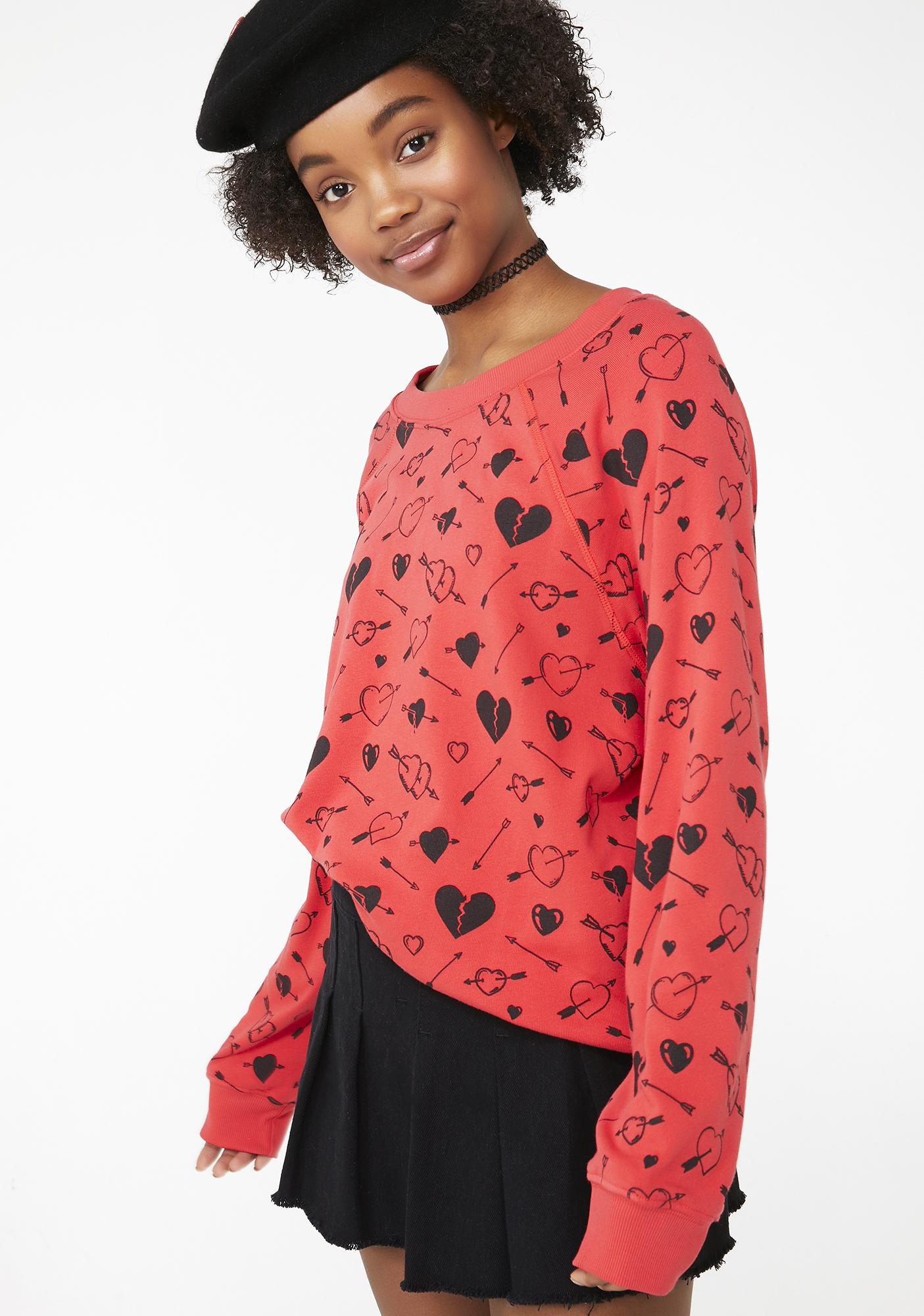 Wildfox Couture Cupid Strikes Sommer Sweater