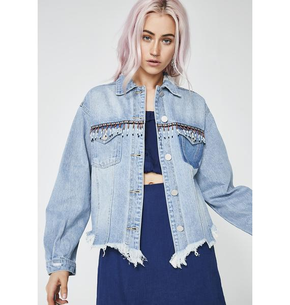 Get Shook Denim Jacket