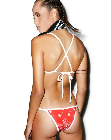 La Bandita Reversible String Brazilian Bottoms