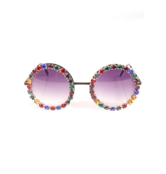 Rad and Refined Gemstarr Sunglasses