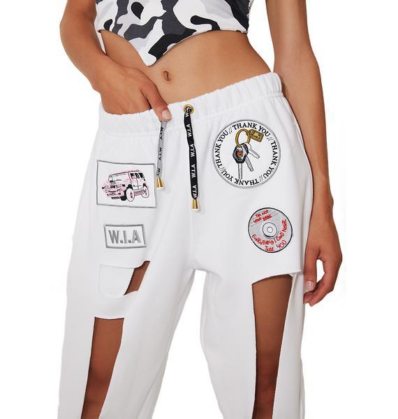 W.I.A Pure Hole Sweatpants