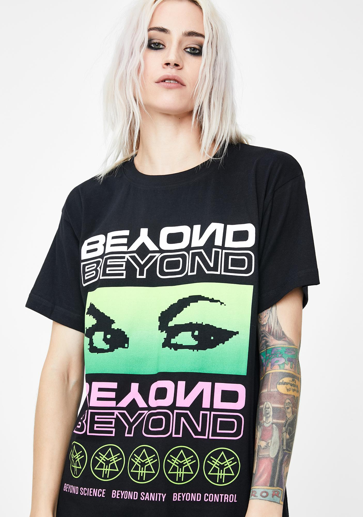 Long Clothing Green Beyond Graphic Tee