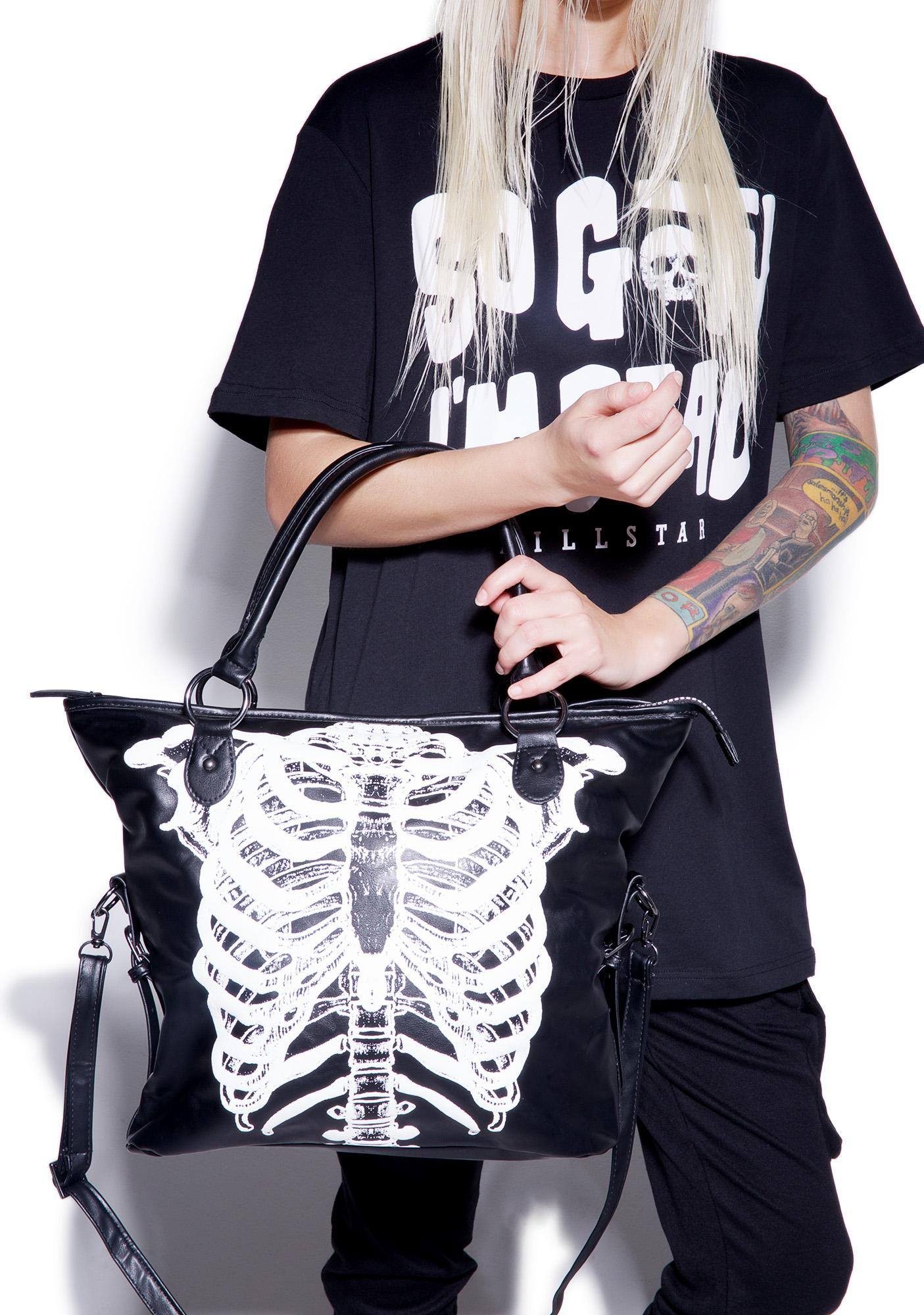 Iron Fist Wishbone Tote Bag