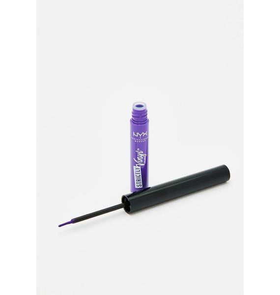 NYX Professional Makeup Extra Strictly Vinyl Eyeliner