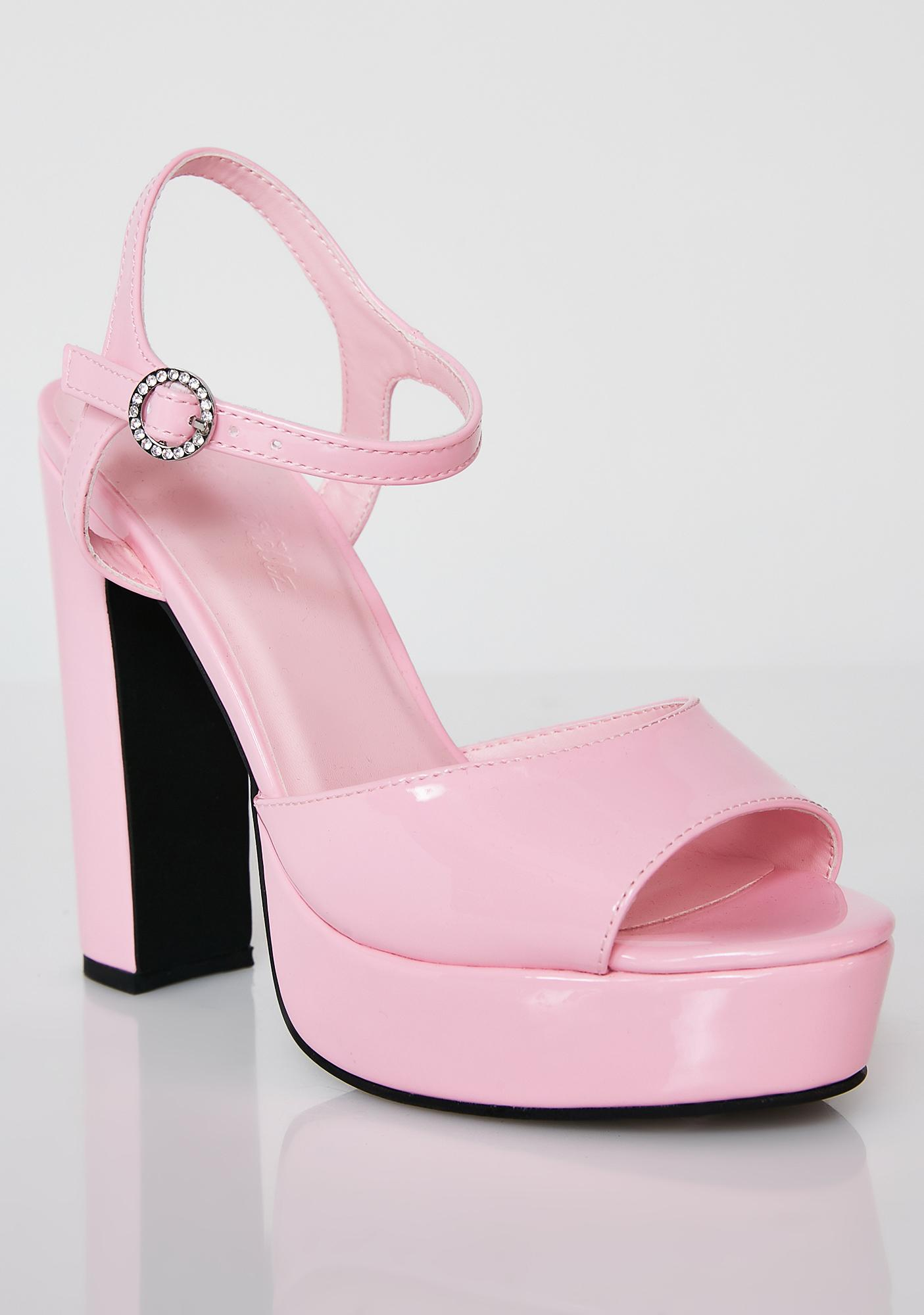 b979539d909d ... Sugar Thrillz Pretty Princess Platform Heels