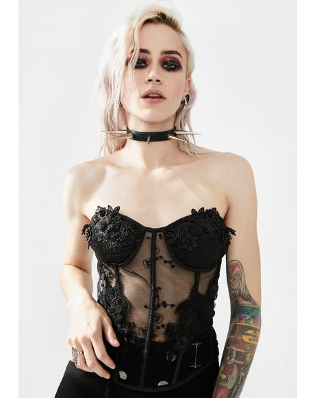 Creature Perspective Lace Corset