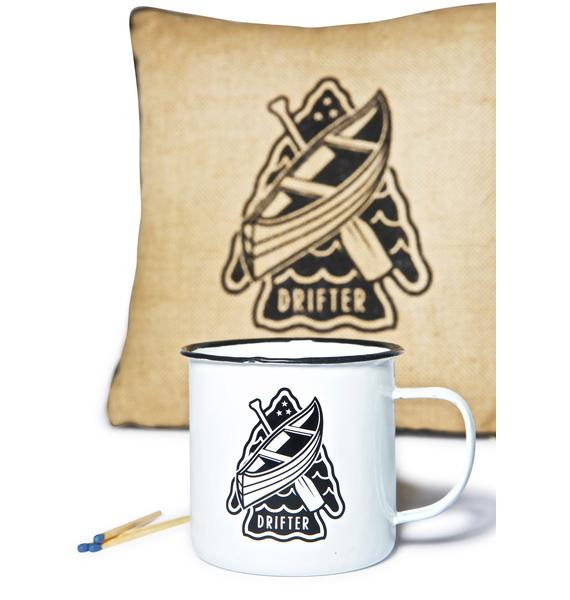 Sourpuss Clothing Drifter Coffee Cup