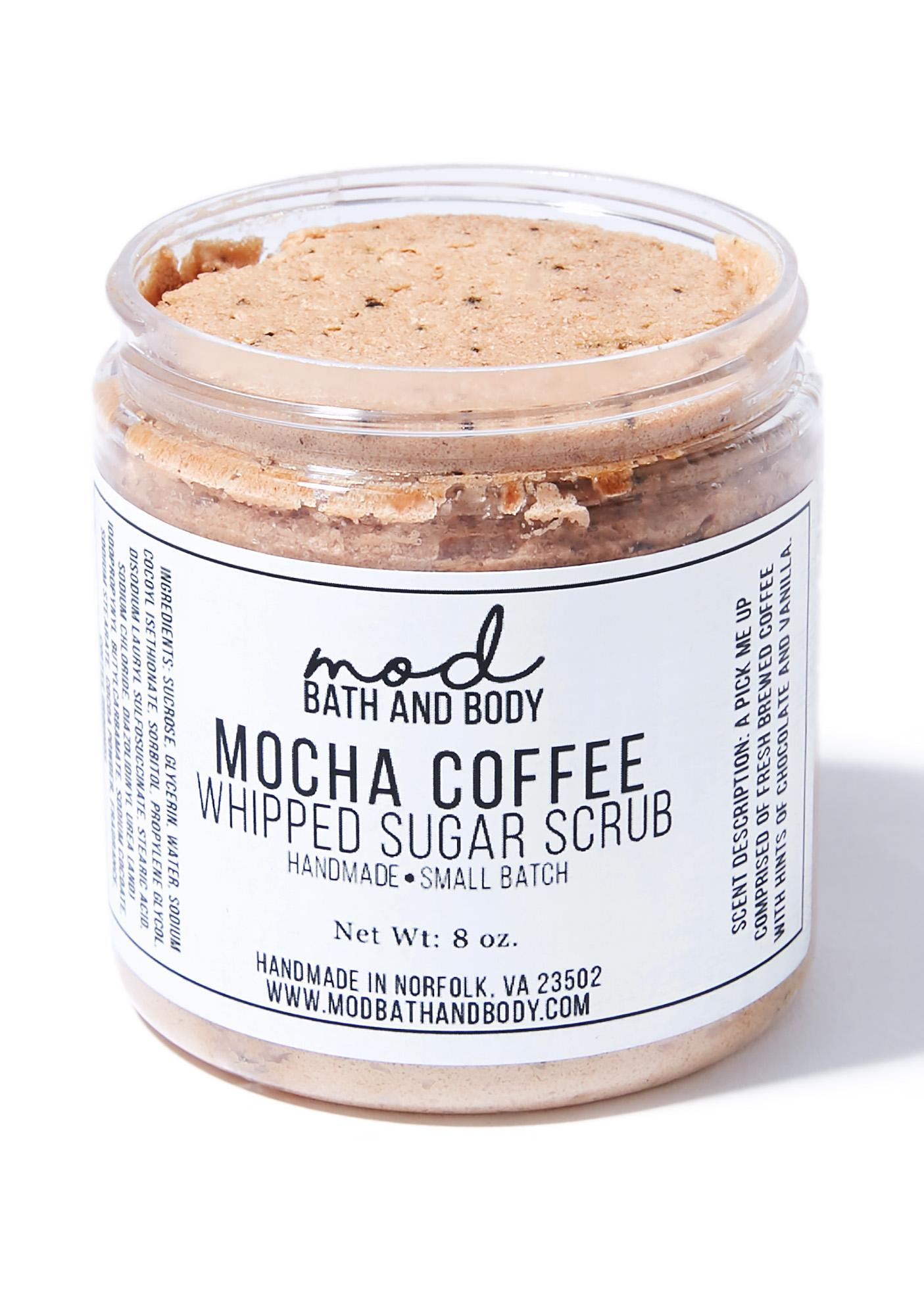 Mod Bath and Body Mocha Coffee Whipped Sugar Scrub