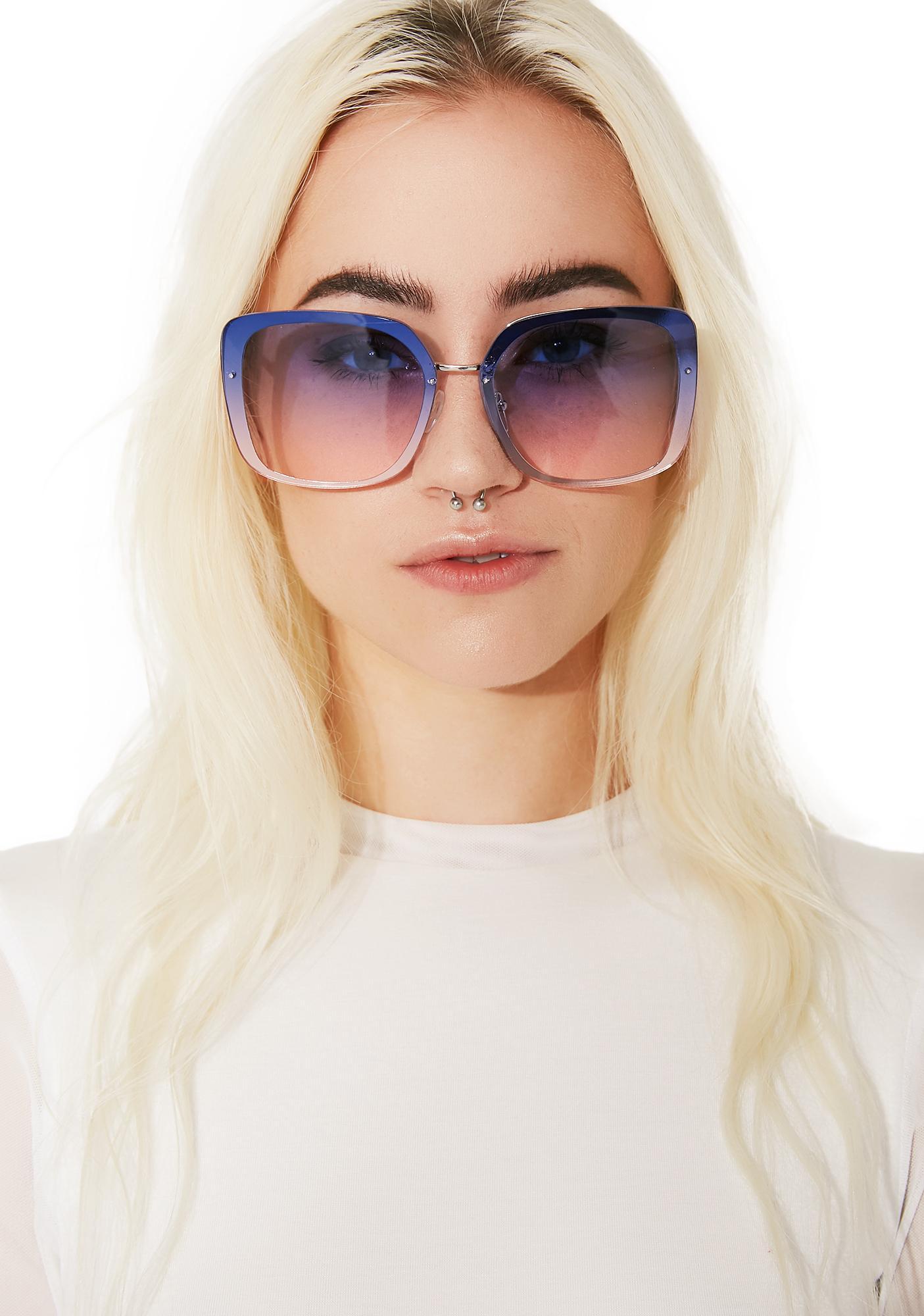 Glider Ombre Sunglasses