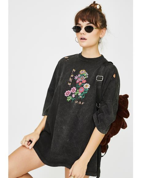 Tattered Bunch Oversized Tee