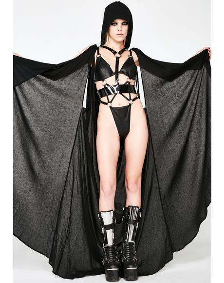 Draped Cape PVC Harness