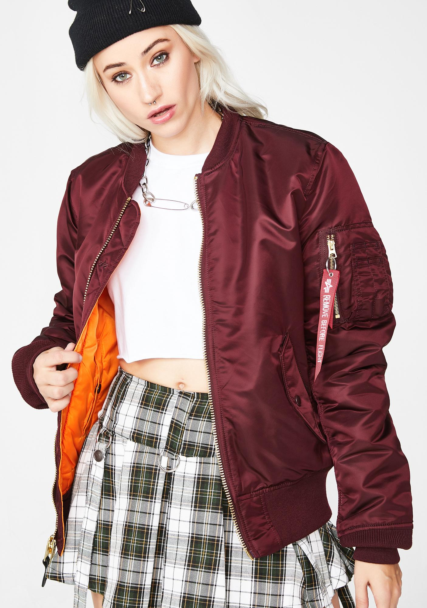 Alpha Industries Bloody MA-1 Slim Jacket