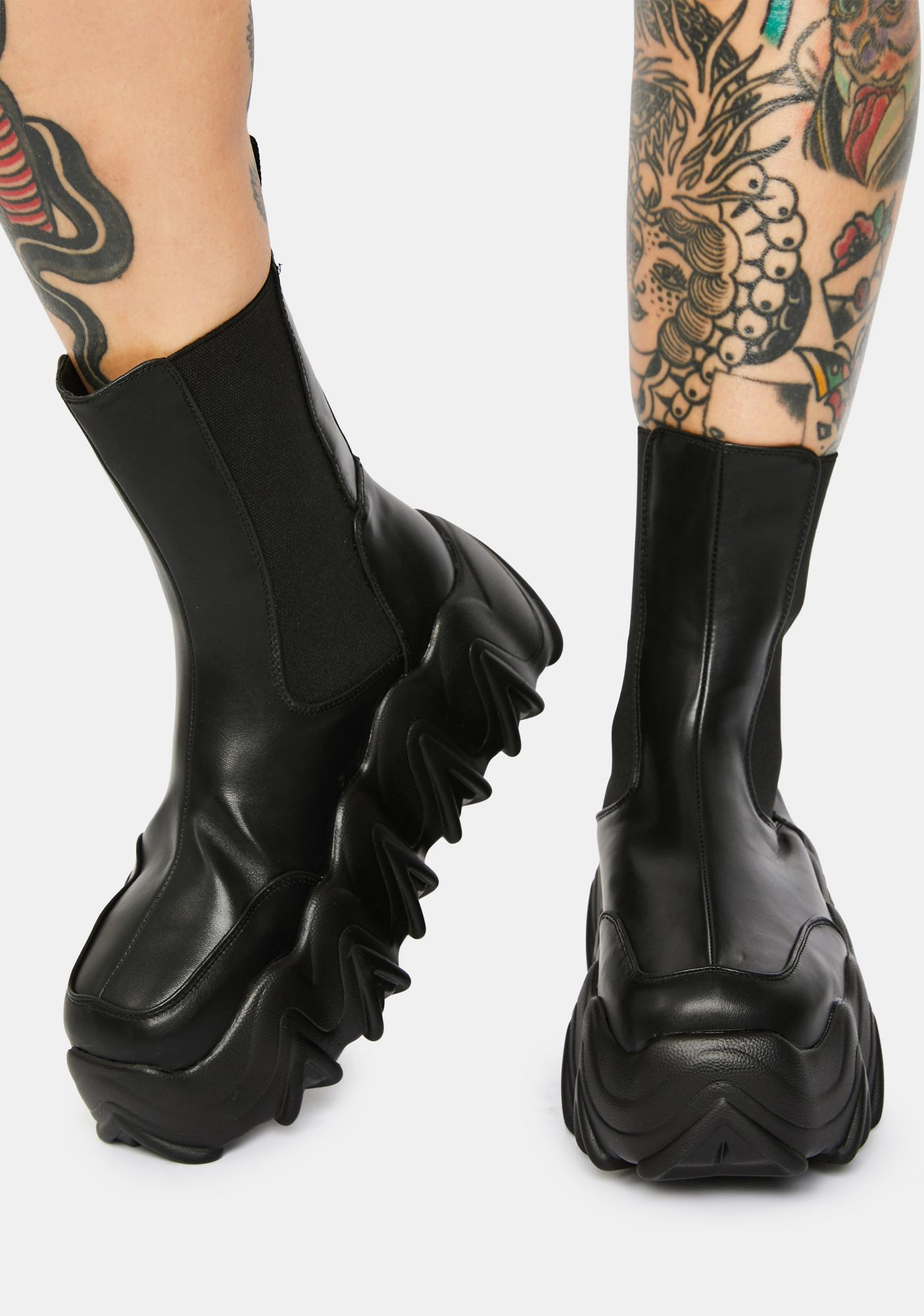Lamoda Boss Up Chunky Ankle Boots