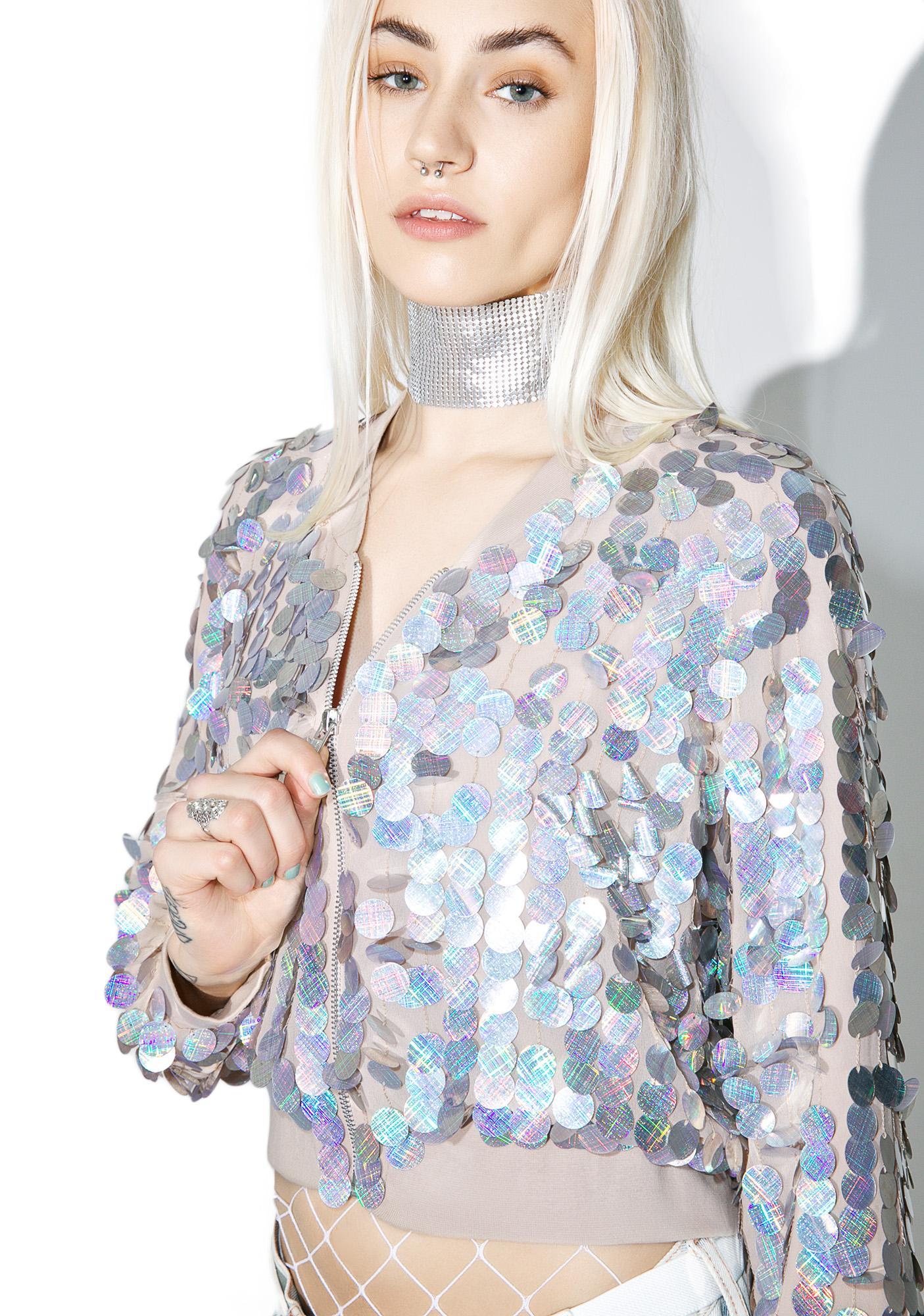 Glamorous Sequin Jacket