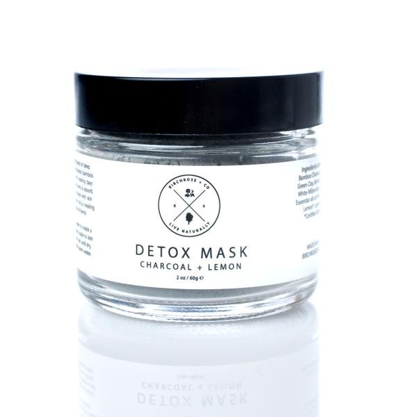 Birchrose + Co Charcoal + Lemon Detox Mask